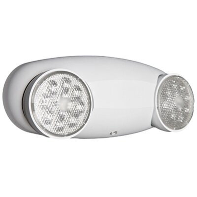 2-Light Self-Diagnostic Quantum LED Emergency Fixture Unit Light