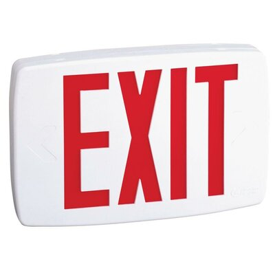 Exit Light Finish: Red