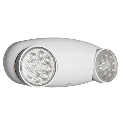 Quantum 2-Light Emergency Light Color: White