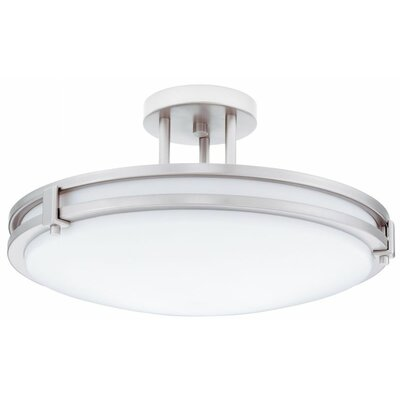 Saturn Large 2-Light Flush Mount