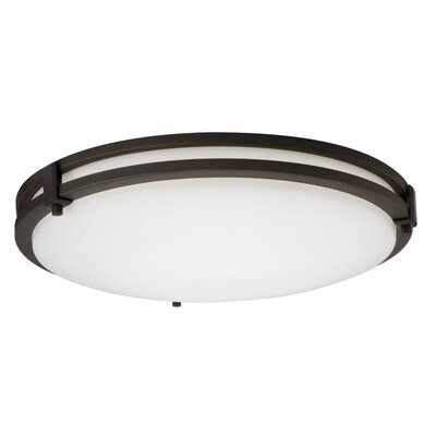 Saturn Small 1-Light Flush Mount