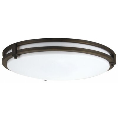 Saturn Large 2-Light 26W Flush Mount