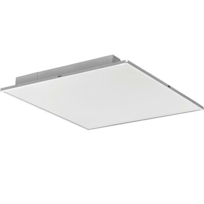 ALT Fully Luminous Lay-In Troffer LED Semi Flush Mount with Smooth Len