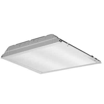 GTL Lensed Troffer LED Semi Flush Mount with Eldo Driver