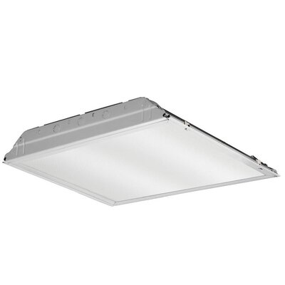GTL Lay-In Troffer LED Semi Flush Mount with Prismatic Lens