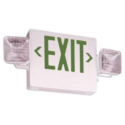 Contractor Select Thermoplastic LED Emergency Exit Sign Light