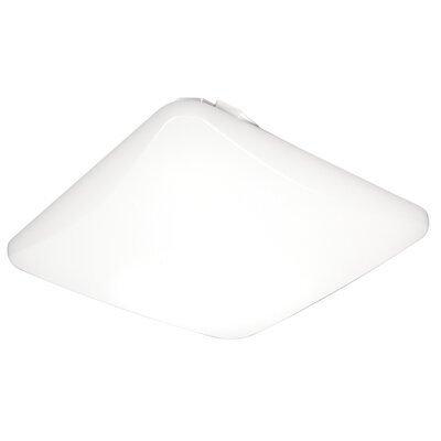 Square 16 Watt LED Flush Mount