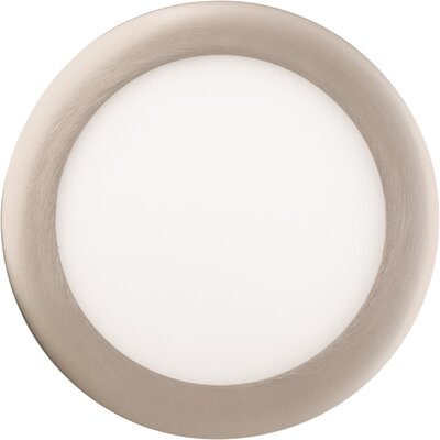 6 LED Recessed Trim Trim Finish: Brushed Nickel