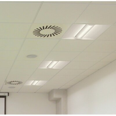 BLT Series LED Low Profile Recessed Troffer Semi Flush Mount
