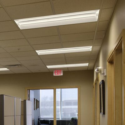 BLT Series Low Profile Recessed Troffer LED Semi Flush Mount