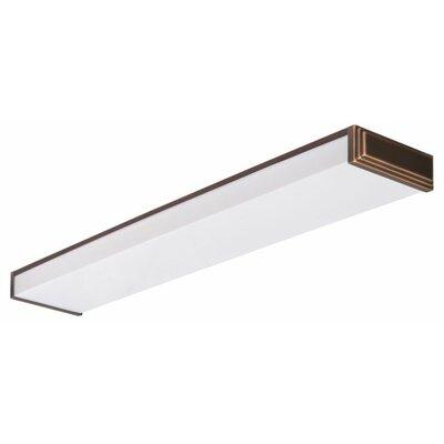Riser Decorative Linear 2-Light Flush Mount