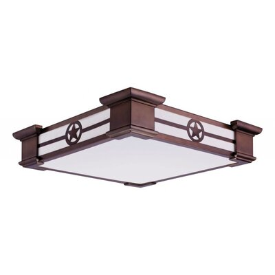 Motifs 1-Light Flush Mount