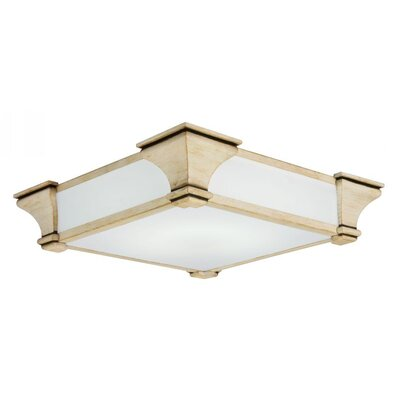 Venetian 1 Light Flush Mount