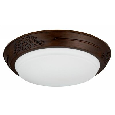 Heritage 1 Light Flush Mount