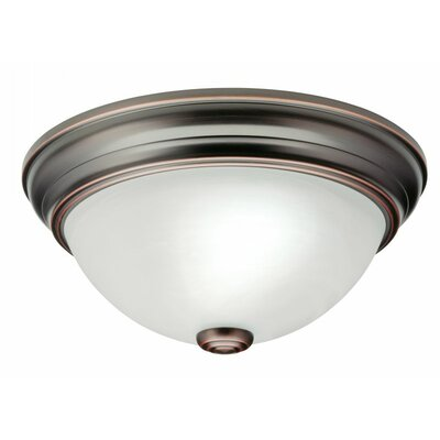 Sheffield Small 2-Light Flush Mount