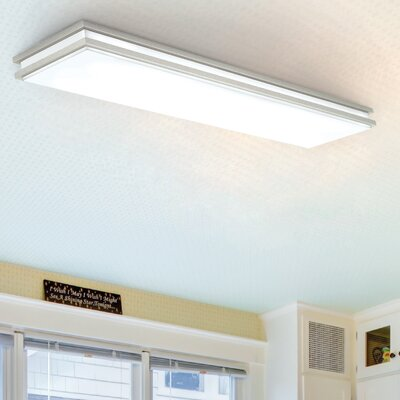 Saturn LED Flush Mount Finish: Nickel