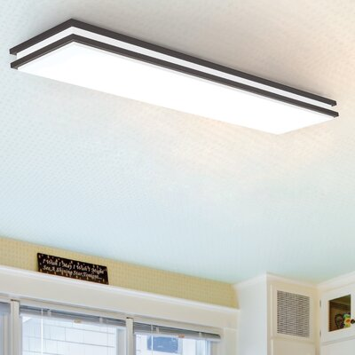 Saturn LED Flush Mount Finish: Bronze