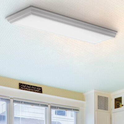 Cambridge LED Flush Mount Finish: White
