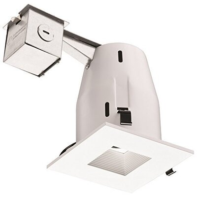 Square 4 LED Recessed Lighting Kit