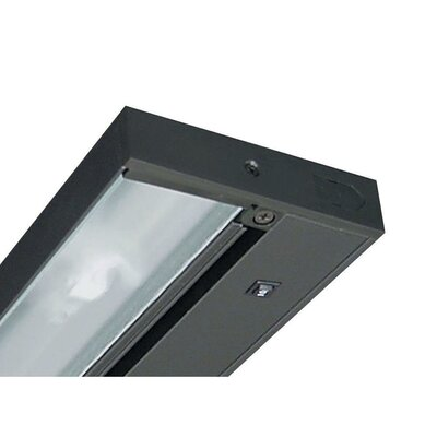 Juno 14 Under Cabinet Strip Light Finish: Black