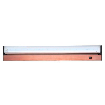 Juno 9 Under Cabinet Strip Light Finish: Bronze