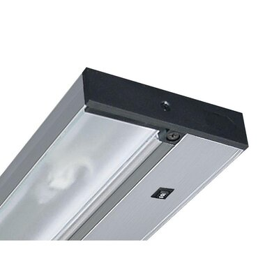 Juno 9 Under Cabinet Strip Light Finish: Silver