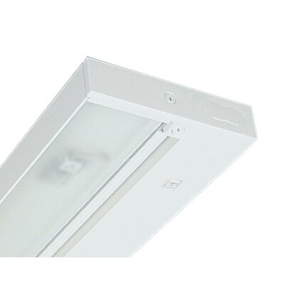 Juno 9 Under Cabinet Strip Light Finish: White