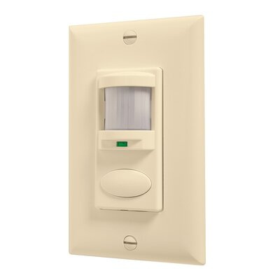 Control Switch Wall Mounted Sensor Color: Ivory