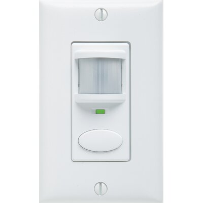 Control Switch Wall Mounted Sensor Color: White
