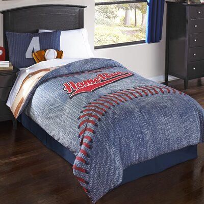 Home Run Comforter Set Size: Full