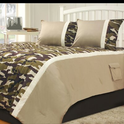 Camp Dynasty Comforter Set Size: Full