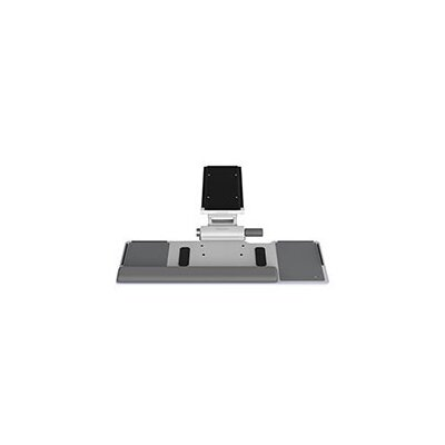 Float 5 H x 25 W Desk Keyboard Platform Finish: White