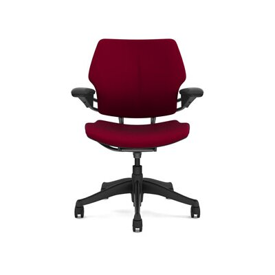 Freedom Task Chair Seat Fabric: Vellum - Pomegranate Product Image 645
