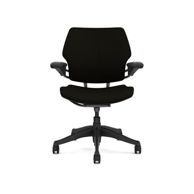 Freedom Task Chair Seat Fabric: Wave - Black Product Image 4374