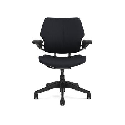 Freedom Task Chair Seat Fabric: Wave - Graphite Product Image 4666