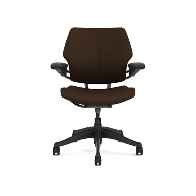 Freedom Task Chair Seat Fabric: Wave - Dark Brown Product Image 5839