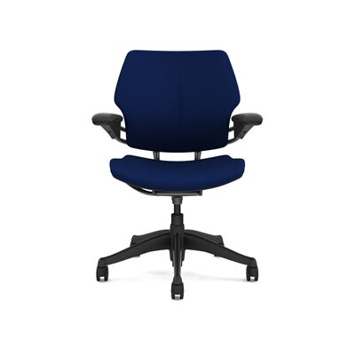Freedom Task Chair Seat Fabric: Wave - Navy Product Image 6803
