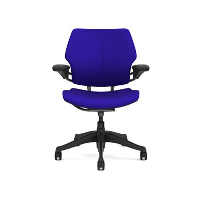 Freedom Task Chair Seat Fabric: Wave - Ultraviolet Product Image 884