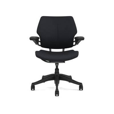 Freedom Task Chair Seat Fabric: Vellum - Graphite Product Image 4