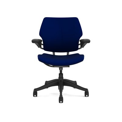 Freedom Task Chair Seat Fabric: Vellum - Navy Product Image 5925