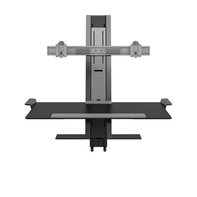 Heavy Mount Quickstand with Large Platform and Cossbar Color: Black