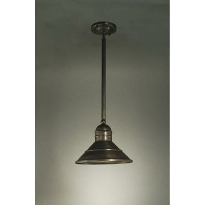 Barn 1-Light Hanging Pendant Finish: Dark Antique Brass