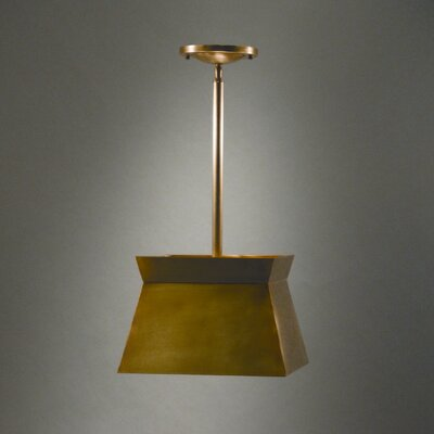 2-Light Drum Pendant Finish: Dark Brass