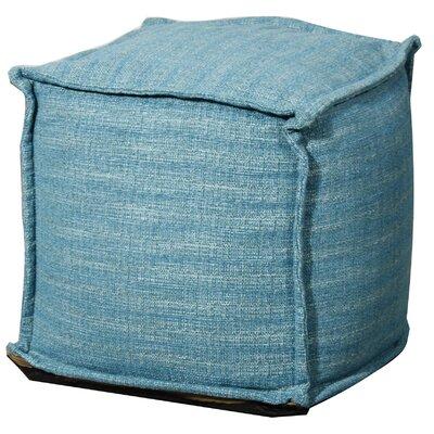 Titania Ottoman Upholstery: Topaz Blue