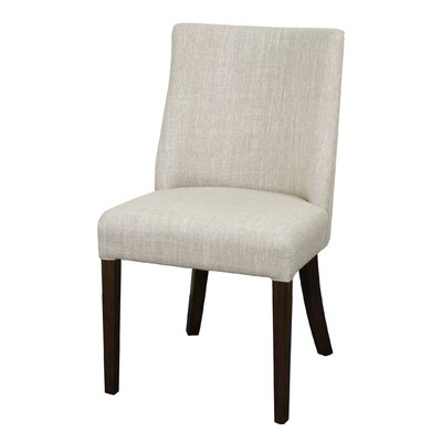 New Paris Parsons Chair Upholstery: Dark Brown