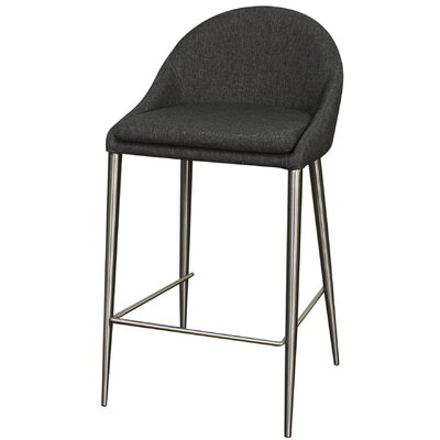 26.5 Bar Stool Upholstery: Night Shade