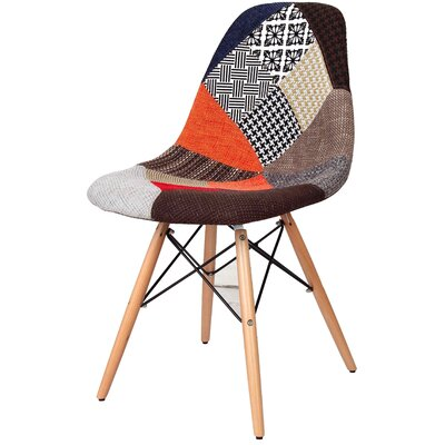 Neo Side Chair Upholstery: Patchwork/Fabric