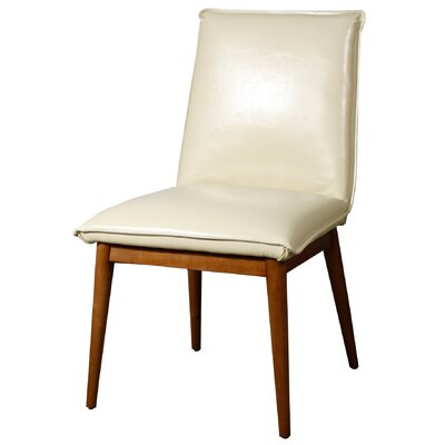Lara Side Chair Upholstery: Ivory