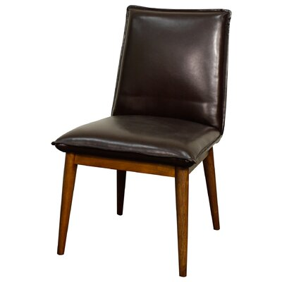 Lara Side Chair Upholstery: Mocha
