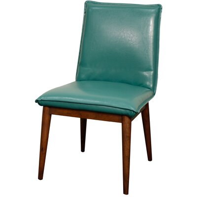 Lara Side Chair Upholstery: Turquoise